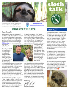 Sloth Talk Issue 4 July 2015