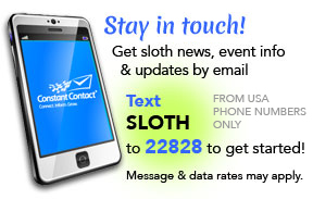 Text SLOTH to 22828 to join! US phone numbers only.
