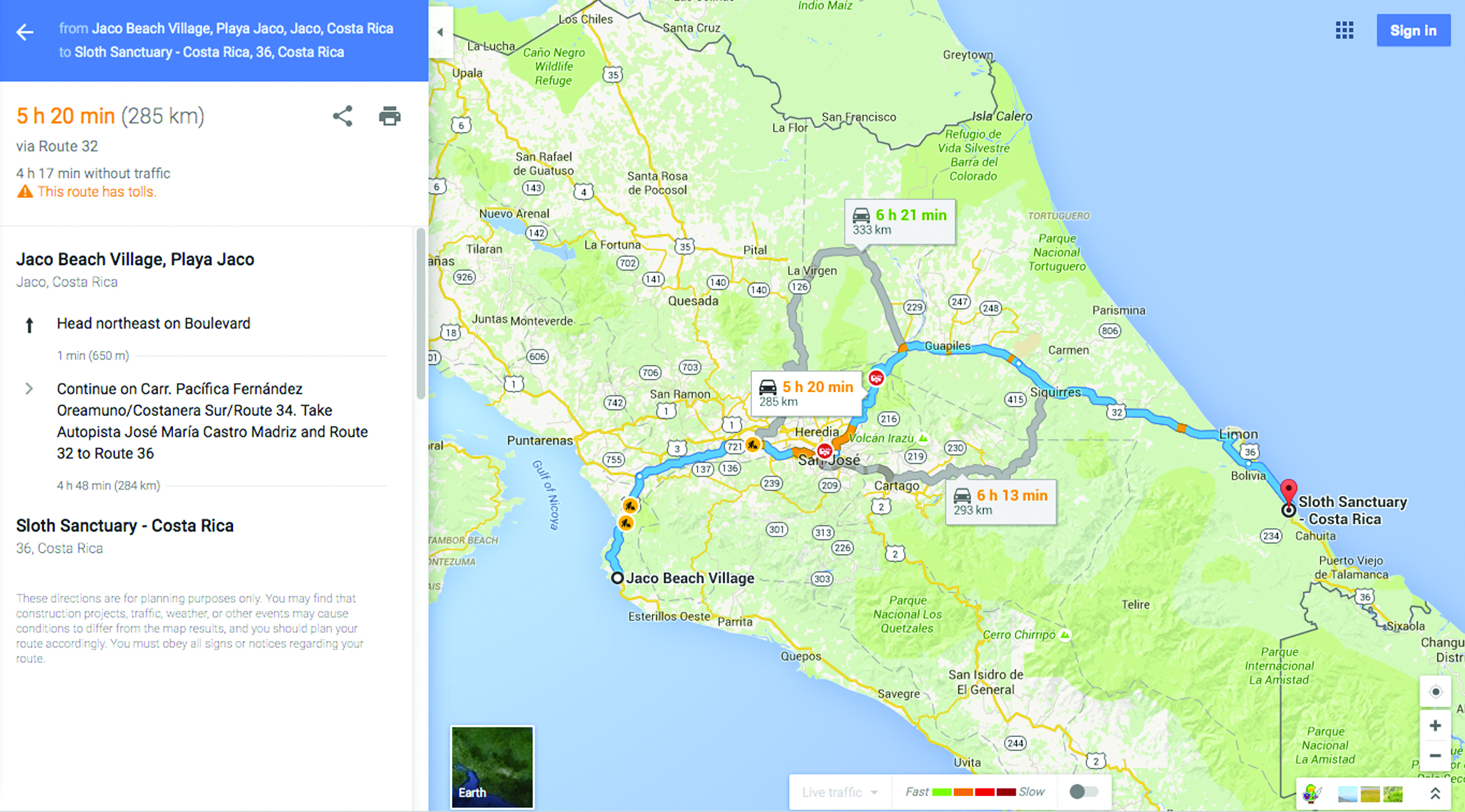 HOW TO GET HERE: maps, driving & more